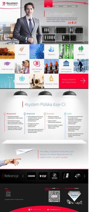 Strona WWW stworzona dla 4System