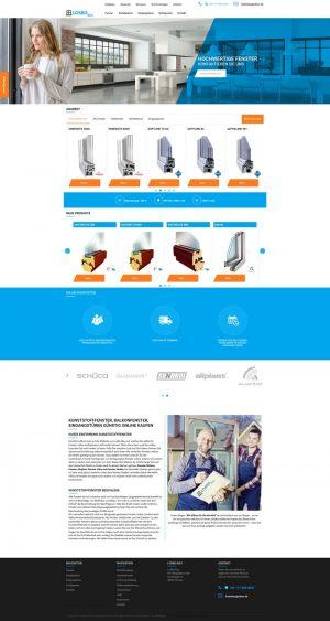 Strona WWW stworzona dla Losbo Bau
