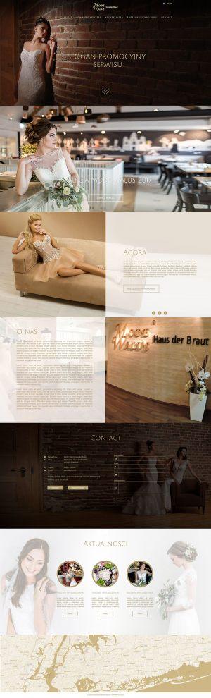 Strona WWW stworzona dla Mode Walus
