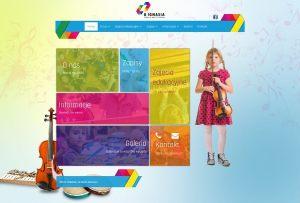 Strona WWW stworzona dla Uignasia